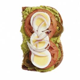 Aroma Avocado Half Sandwich (Thursday)