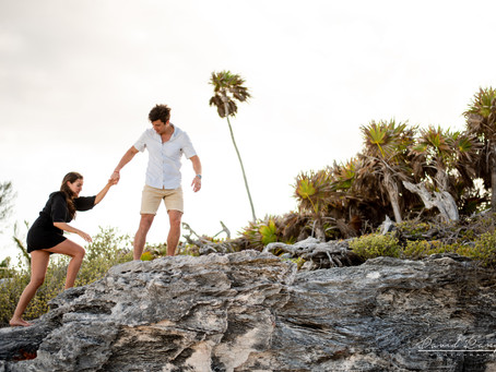 Hotel Sandos Playacar | Pregnancy Session, Maria & Rodrigo | Destination Photographer | Riviera Maya