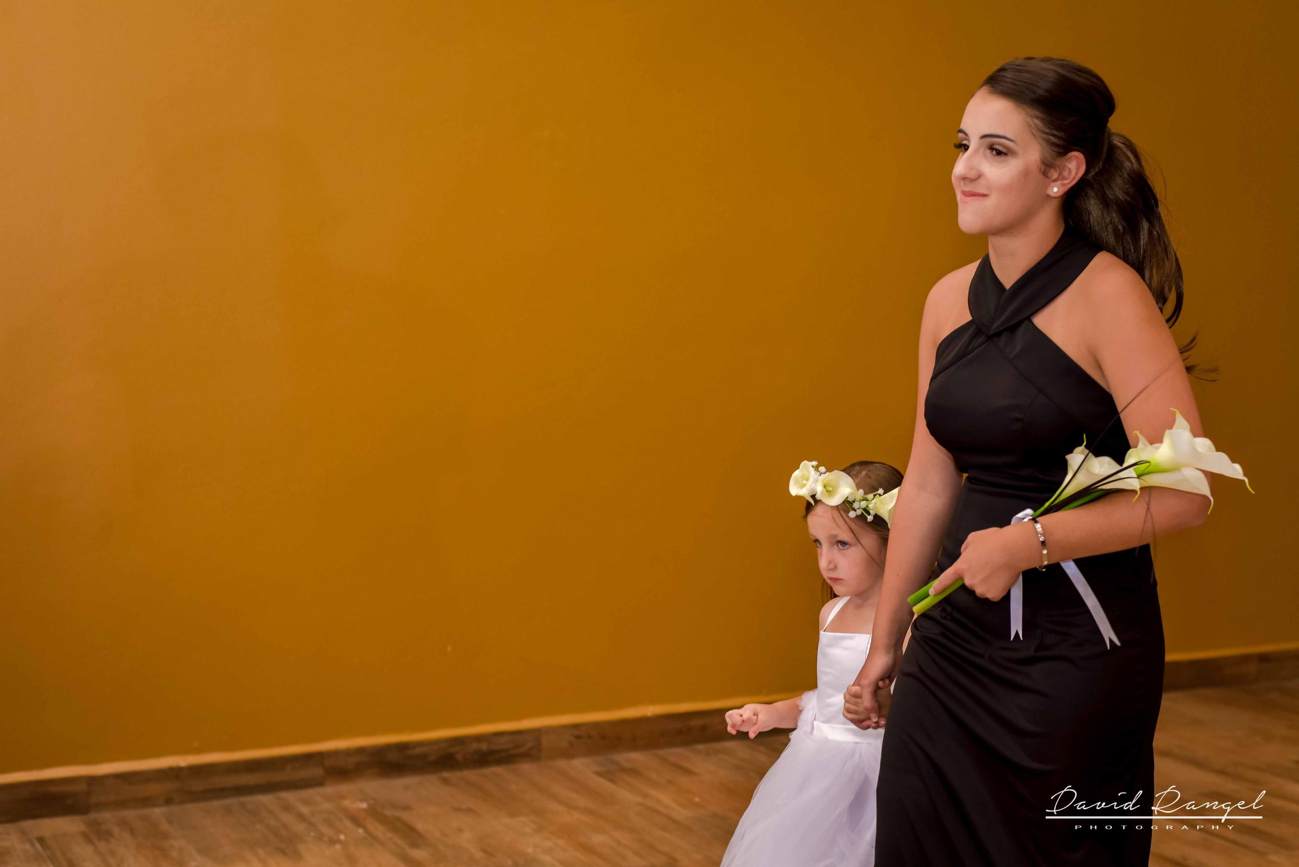 Bride+maid