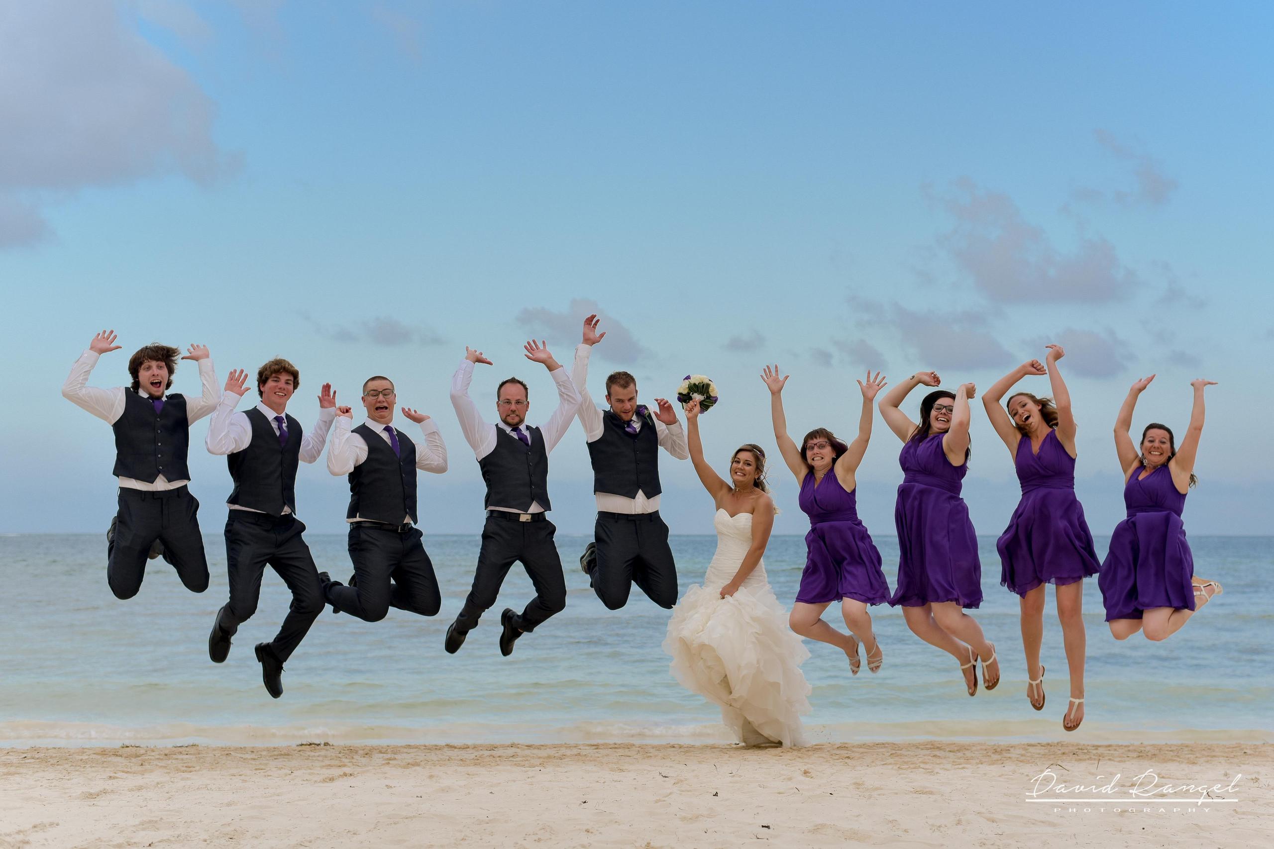 wedding+jump