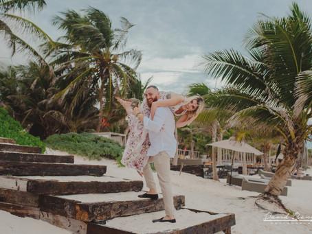 Hotel Casa Malca | Engagement Session, Adam & Nerwan | Tulum, Mexico | Destination Photographer