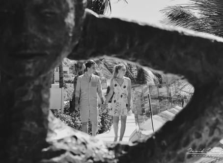 Hotel Azul Beach Resort Riviera Cancun | Engagement, Indra & Chris | Cancun, Mexico | 54