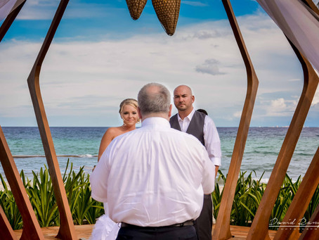 Azul Fives Beach Resort | Wedding, Lindsay & George | Playa del Carmen, Quintana Roo, Mexico | 09