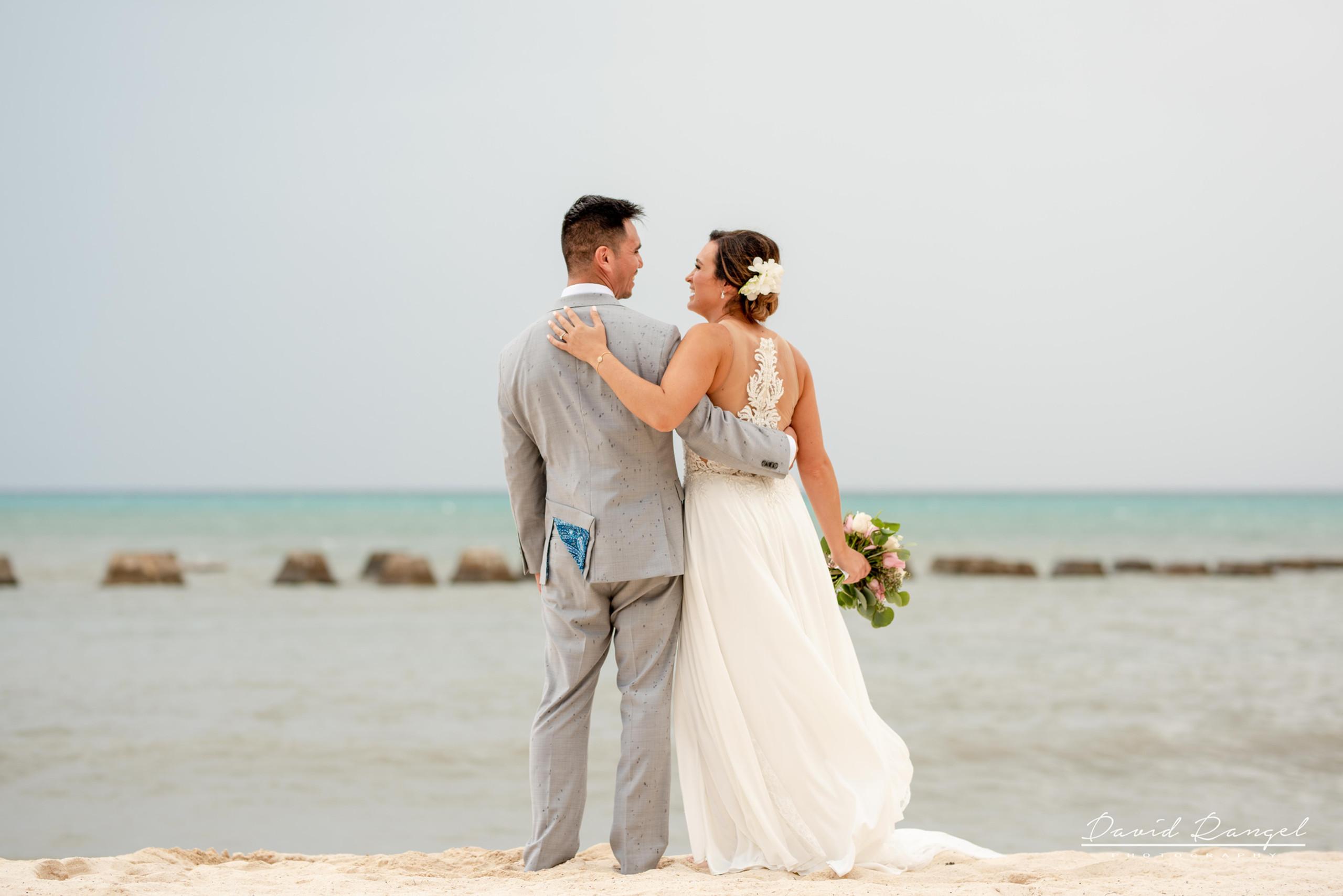 Beach+photo+session+couple+love+hugh+bride+groom