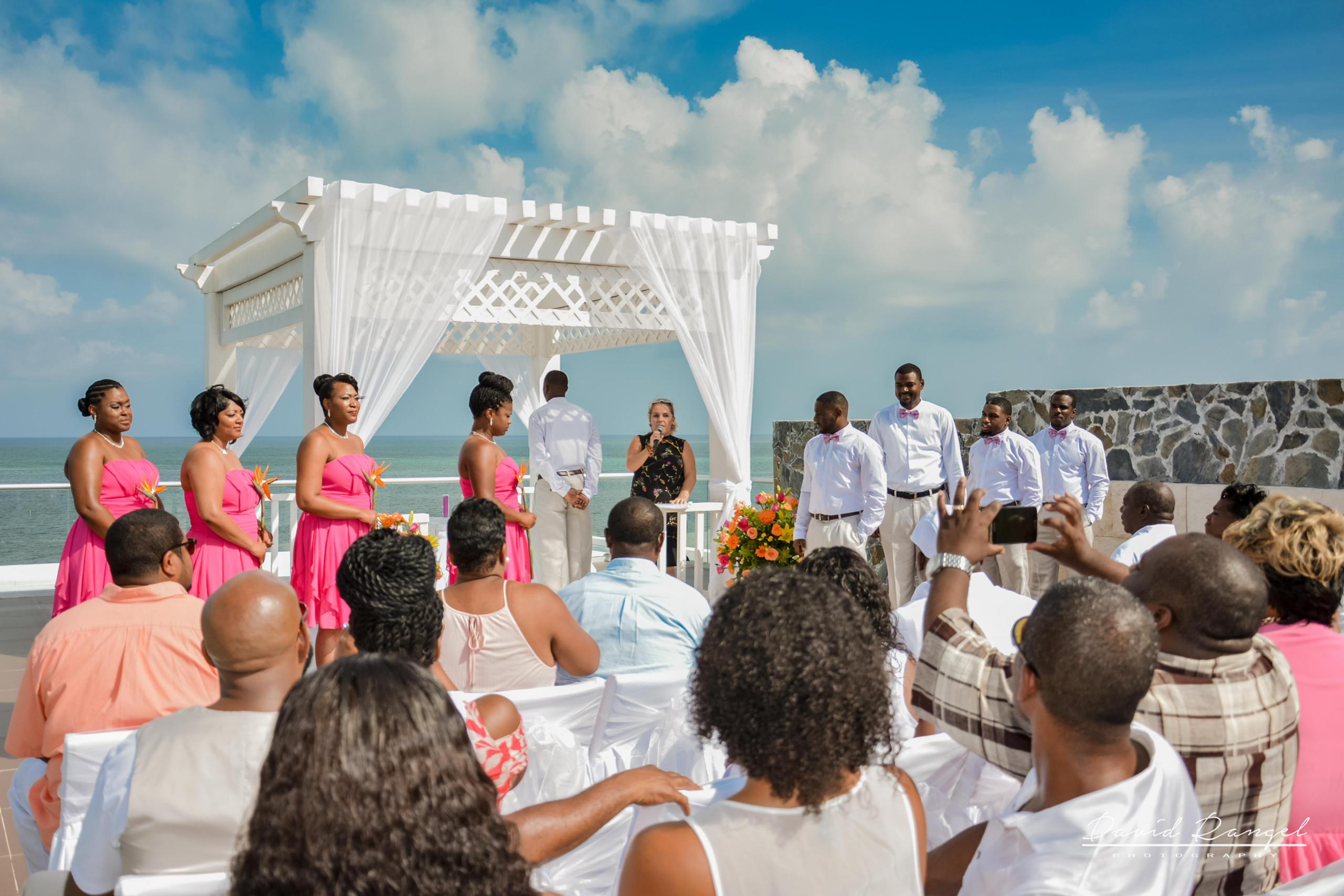 ceremony sky deck