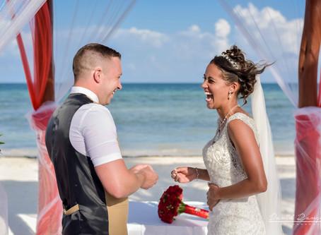 Hotel Azul Beach Resort Riviera Cancun | Wedding, Charlotte & Stephen | Puerto Morelos, Mexico | 46