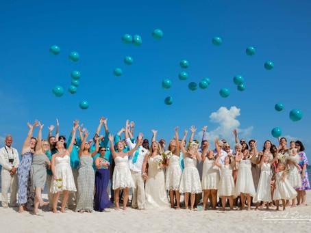 02 | Hotel Azul Beach Resort Riviera Cancun | Wedding, Heather & Scott | Cancun, Mexico