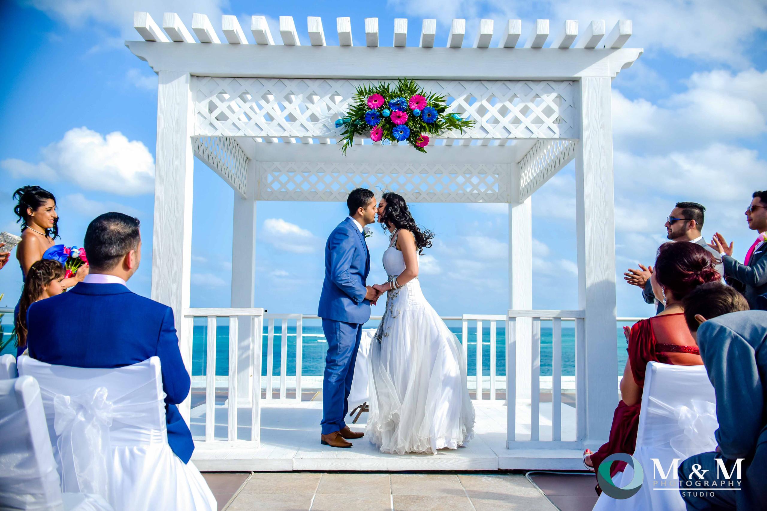 sky terrace wedding