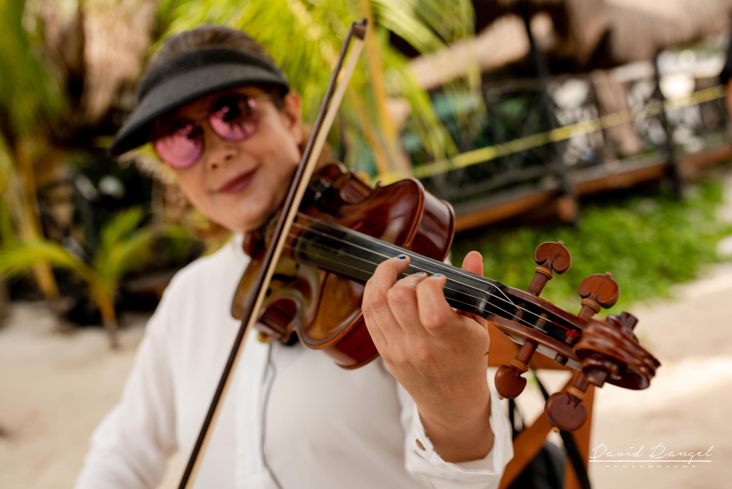 violin+live+ceremony