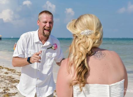 Hotel Azul Beach Resort Riviera Cancun | Wedding, Katrina & Tony | Puerto Morelos, Mexico | 52