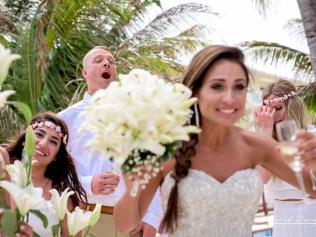 Hotel Azul Sensatory | Wedding, Nichelle & Jesse | Cancun, Quintana Roo, Mexico | 38
