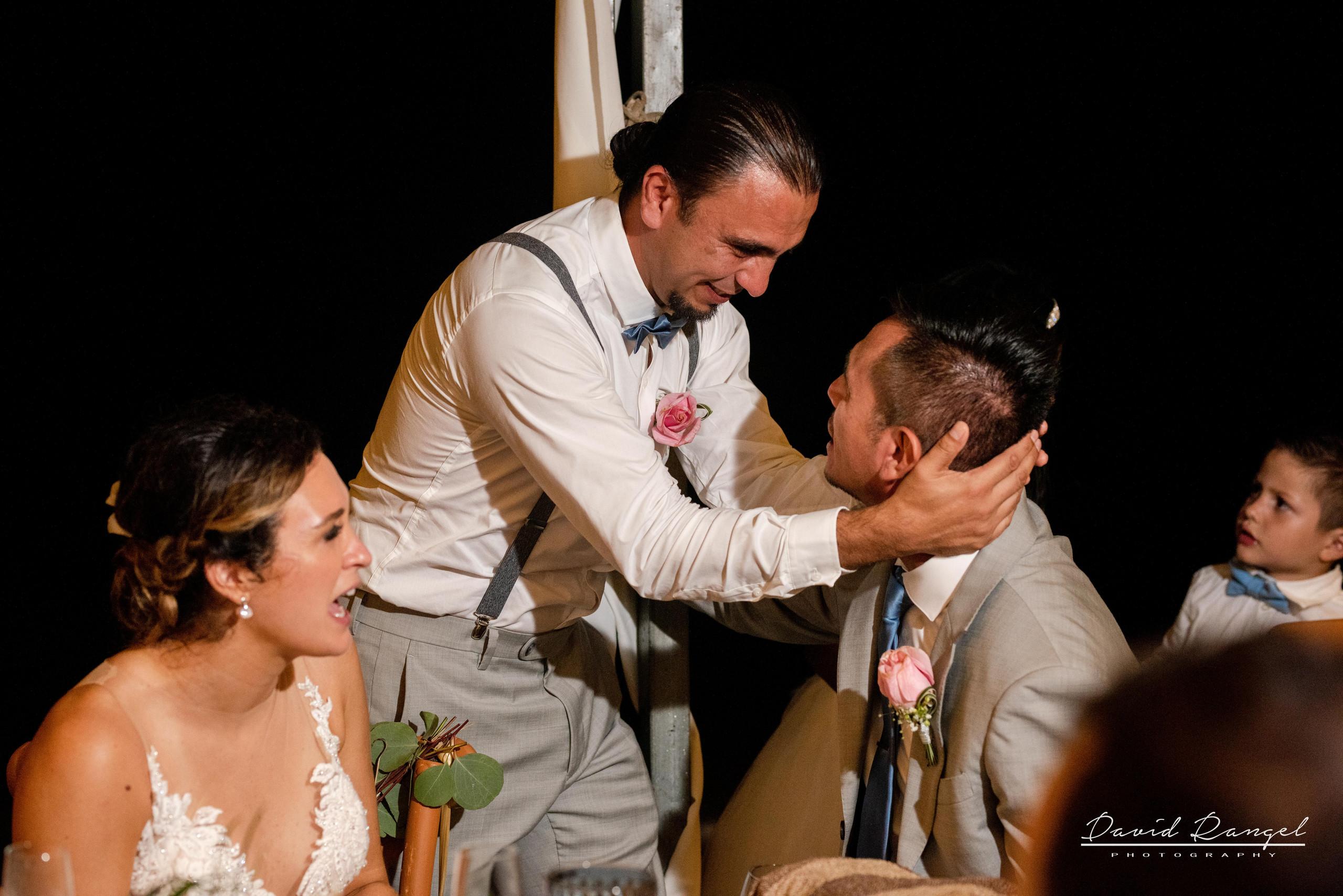 dinner+reception+wedding+guest+groom+bride+best+man+brother