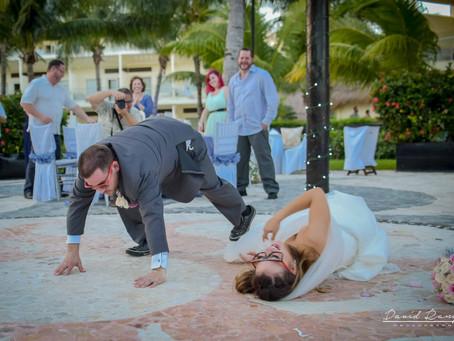 Hotel Azul Beach Resort Riviera Cancun | Wedding, Michell & Adam | Cancun, Quintana Roo, México | 33