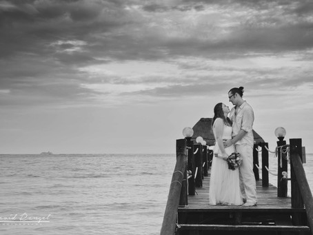 Hotel Azul Beach Resort Riviera Cancun | Wedding, Emily & Lance | Cancun, Quintana Roo, Mexico | 43
