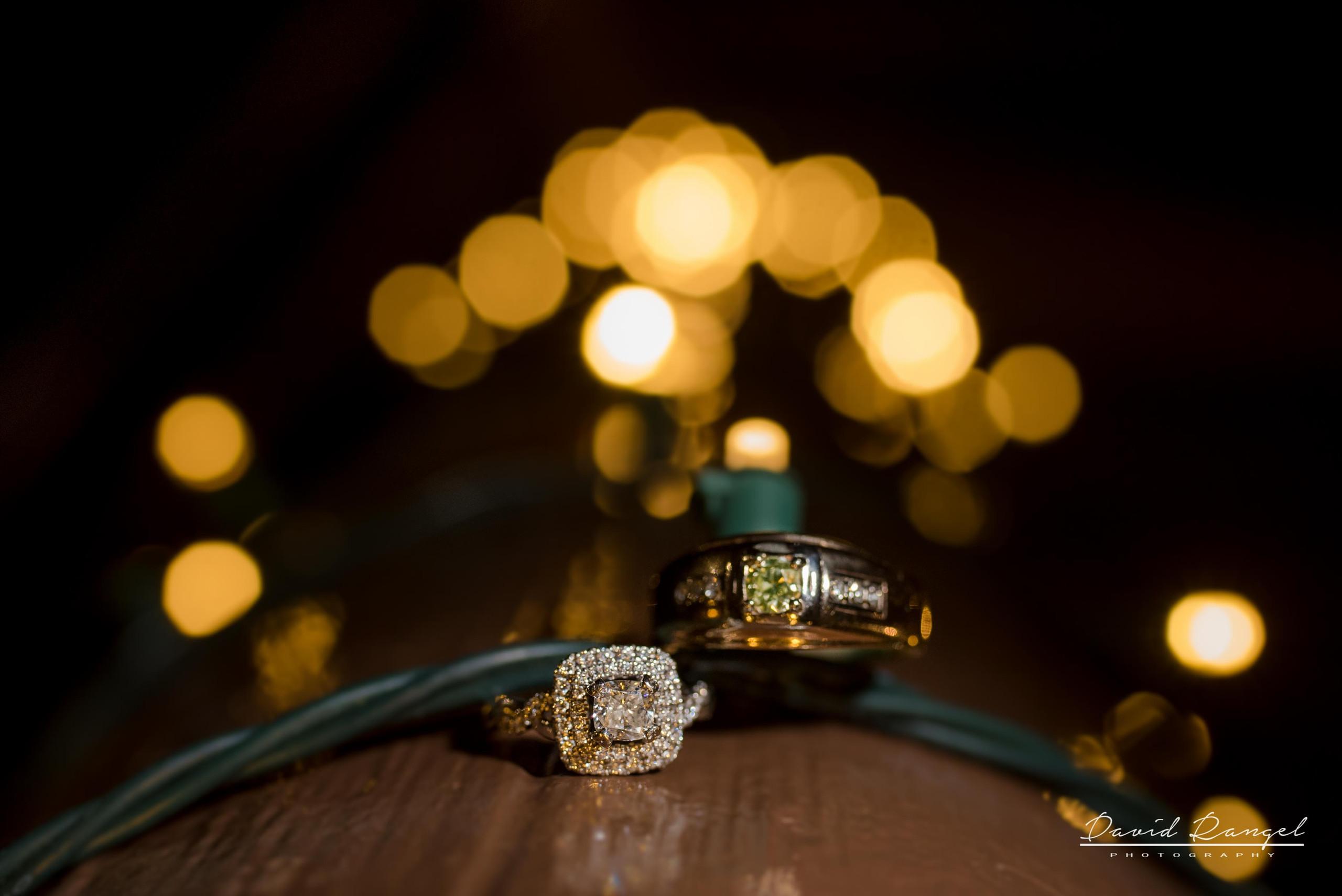 wedding+photo+bride+groom+reception+frame+rings