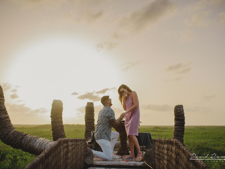 Hotel Hun Tulum | Engagement Session, Clint & Kelly | Tulum, Mexico | The Hand | Marriage Proposal