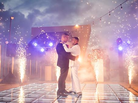 Hotel Generations Riviera Maya | Same Sex Destination Wedding, Peter & Richard | Cancun, Mexico