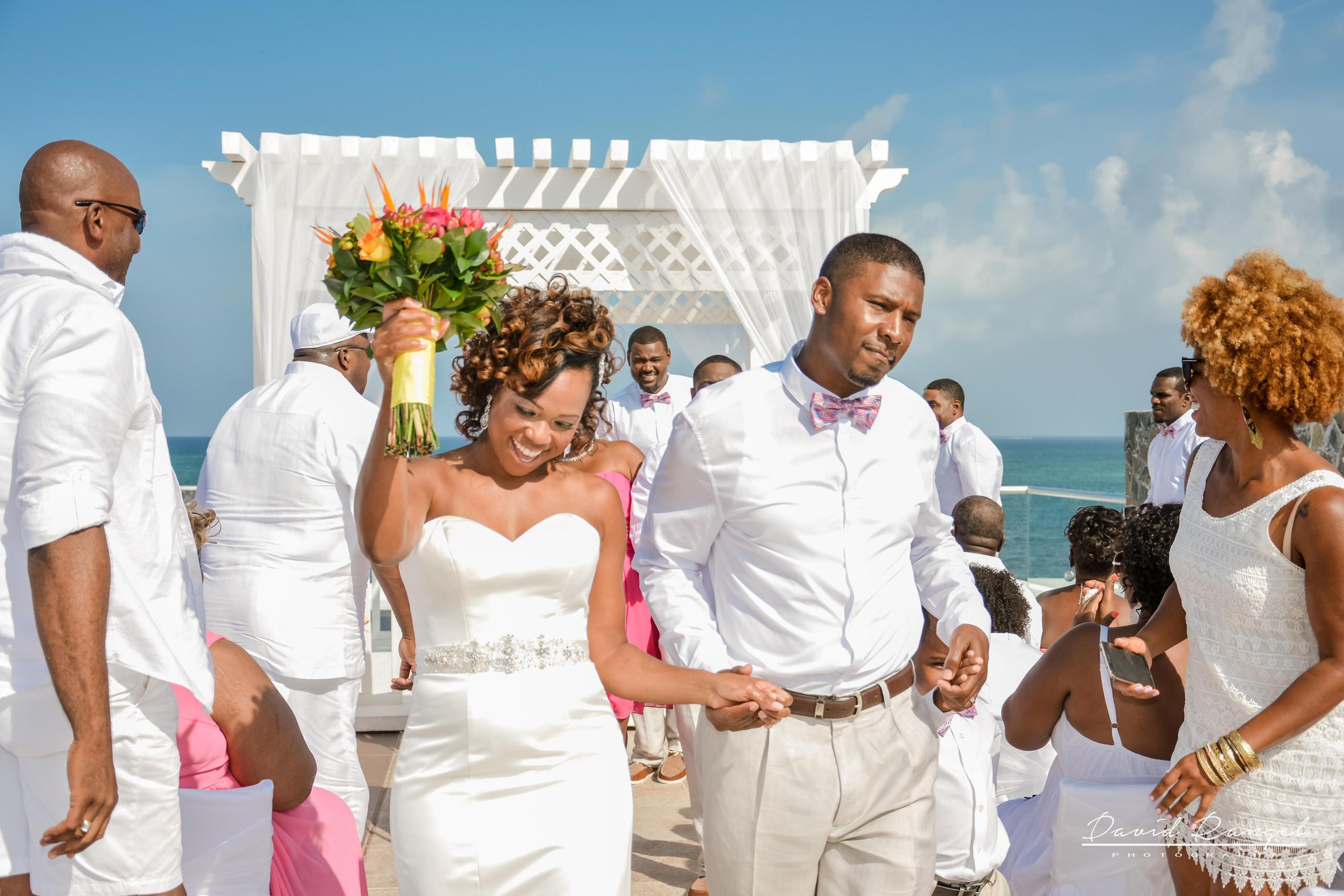 wedding ceremony, sky deck