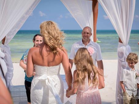 Hotel Azul Beach Resort Riviera Cancun | Wedding, Kimberly & Bodie | Cancun, Mexico | 39