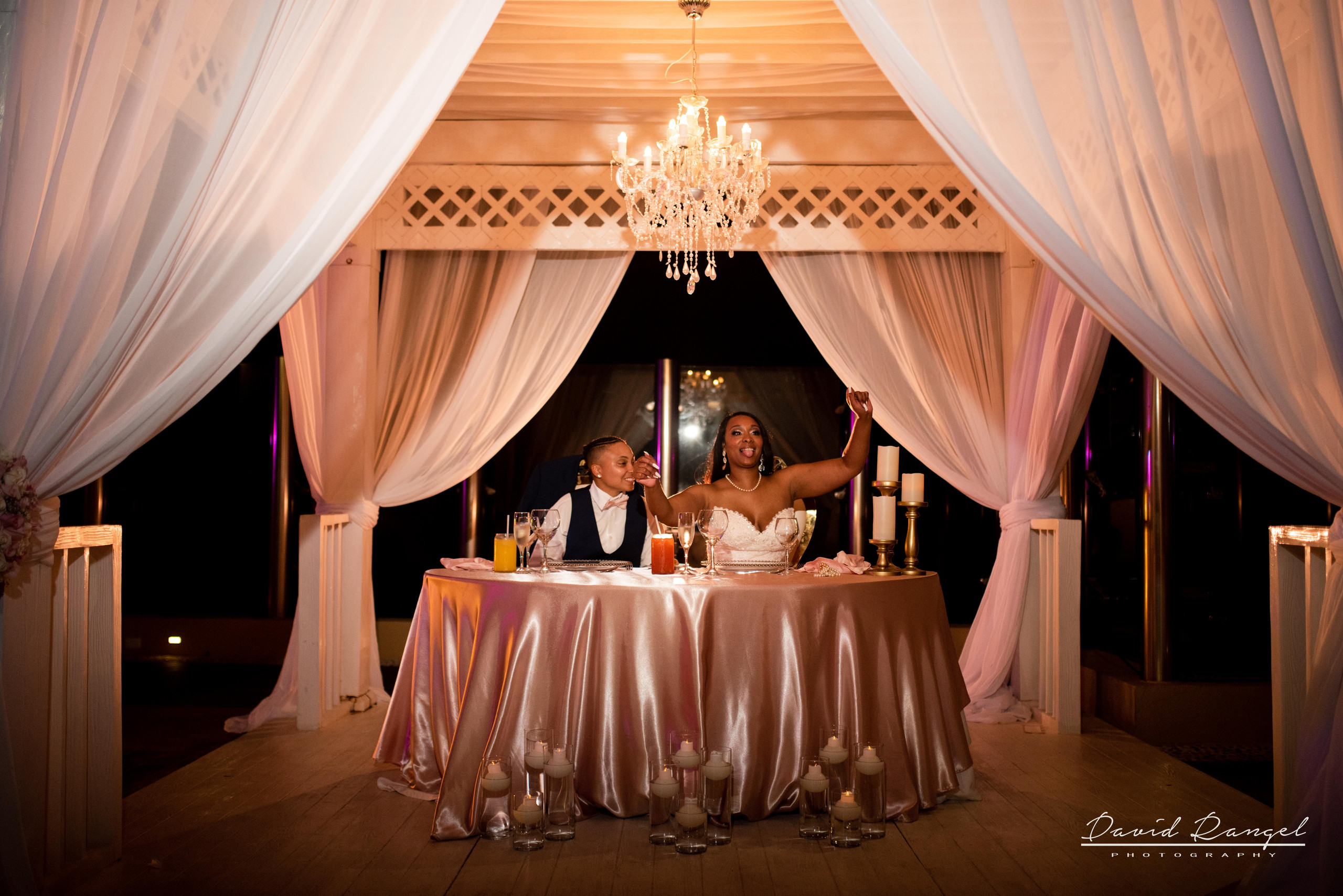reception+dinner+bride+groom