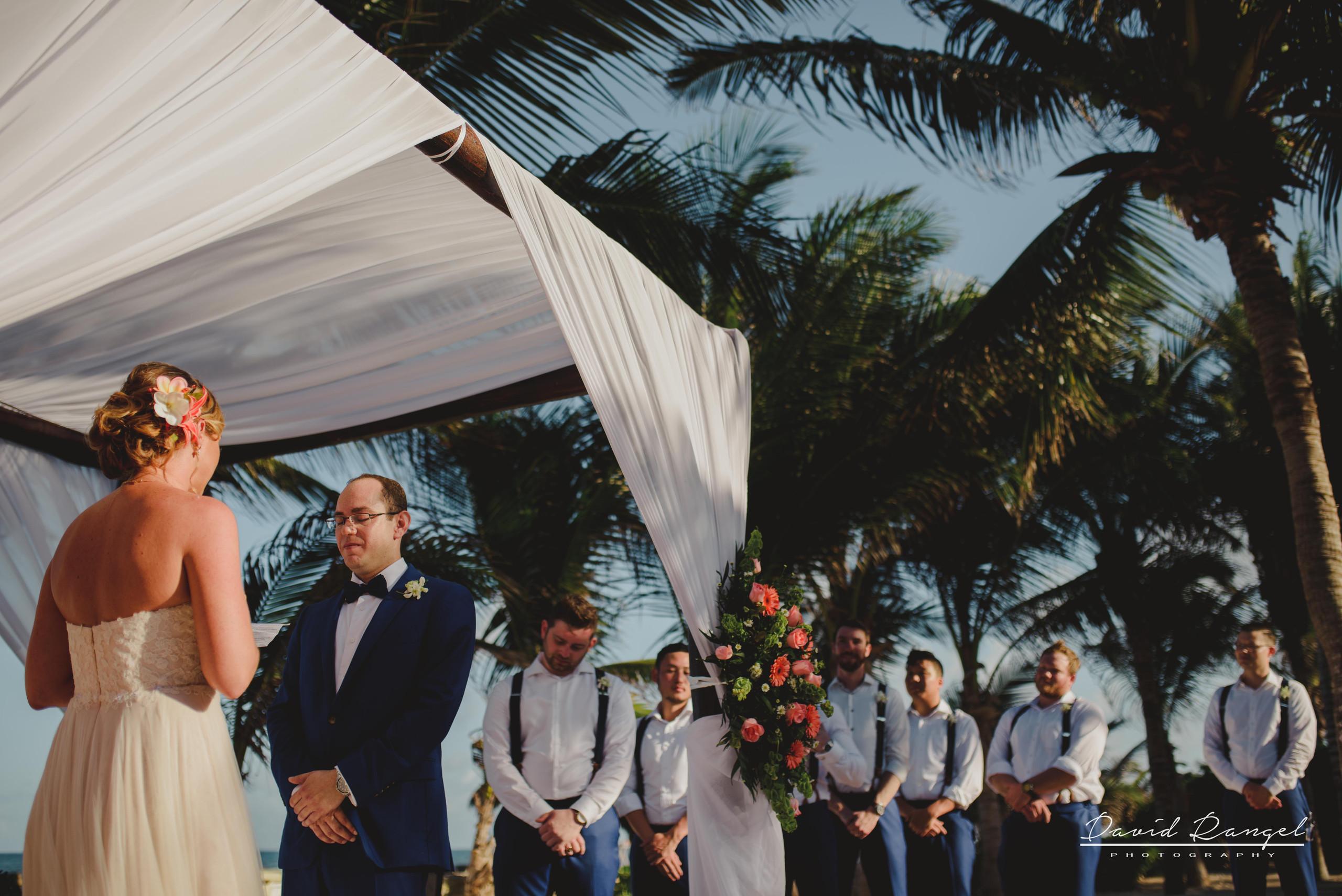 wedding+gazebo+beach+ceremony+photo+groom+bride