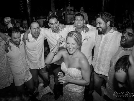 Hotel Azul Beach Resort Riviera Cancun | Wedding, Jennifer & Marcus | Cancun, Mexico | 22