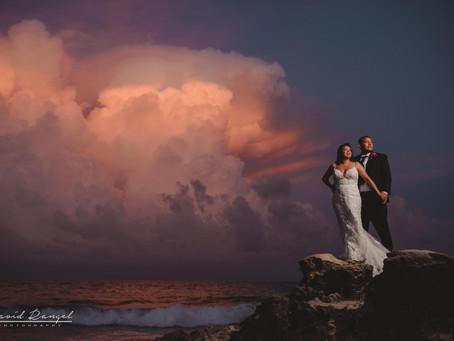 Mandala Beach Club | Destination Wedding, Juana & Fernando | Cancun, Mexico