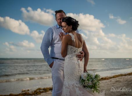 Hotel Azul Beach Resort Riviera Cancun   Sky Wedding, Amanda & Andrew   Puerto Morelos, Mexico