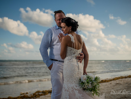 Hotel Azul Beach Resort Riviera Cancun | Sky Wedding, Amanda & Andrew | Puerto Morelos, Mexico