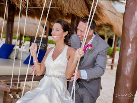 Hotel Azul Beach Resort Riviera Maya | Wedding, Heather & Mark | Cancun, Quintana Roo, Mexico | 36