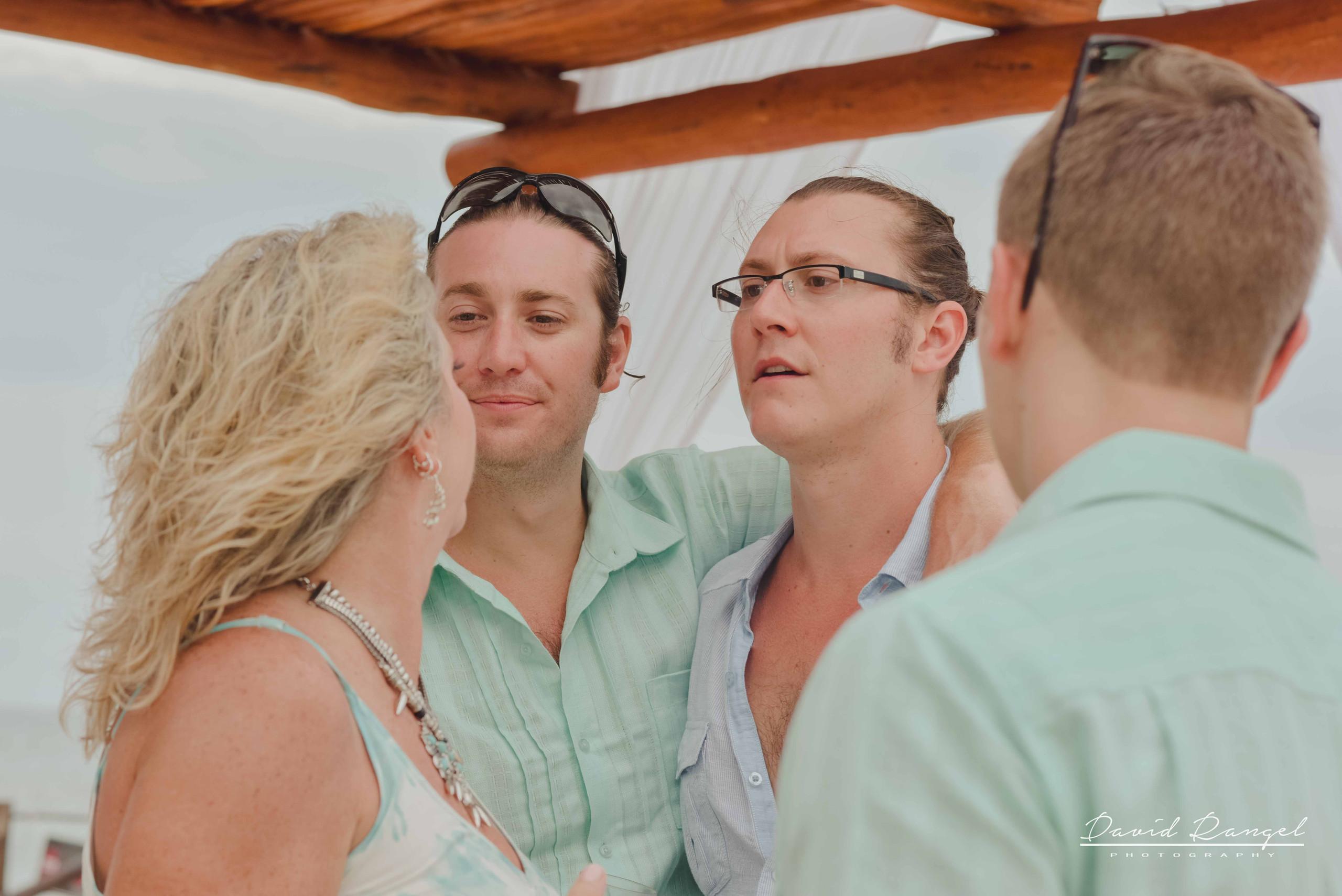groom+family