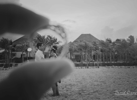 Hotel Allegro Playacar | Engagement Session, Stefany & Alex | Playa del Carmen, Mexico