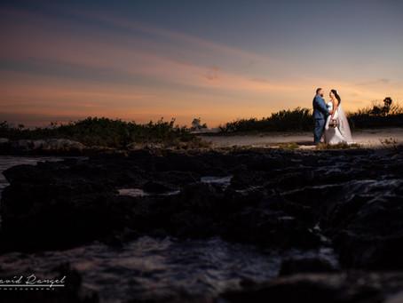 Caleta Tankah | Trash the Dress, Yamiris & Hector | Tulum, Mexico | Wedding Photographer in Tulum