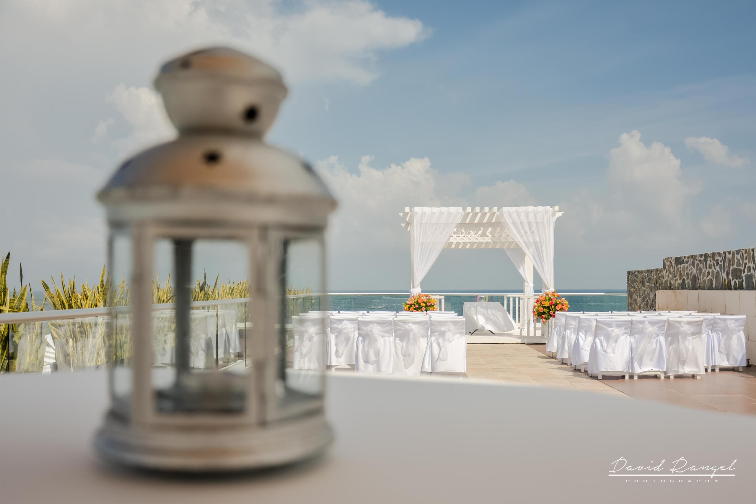 Wedding Gazebo, sky deck