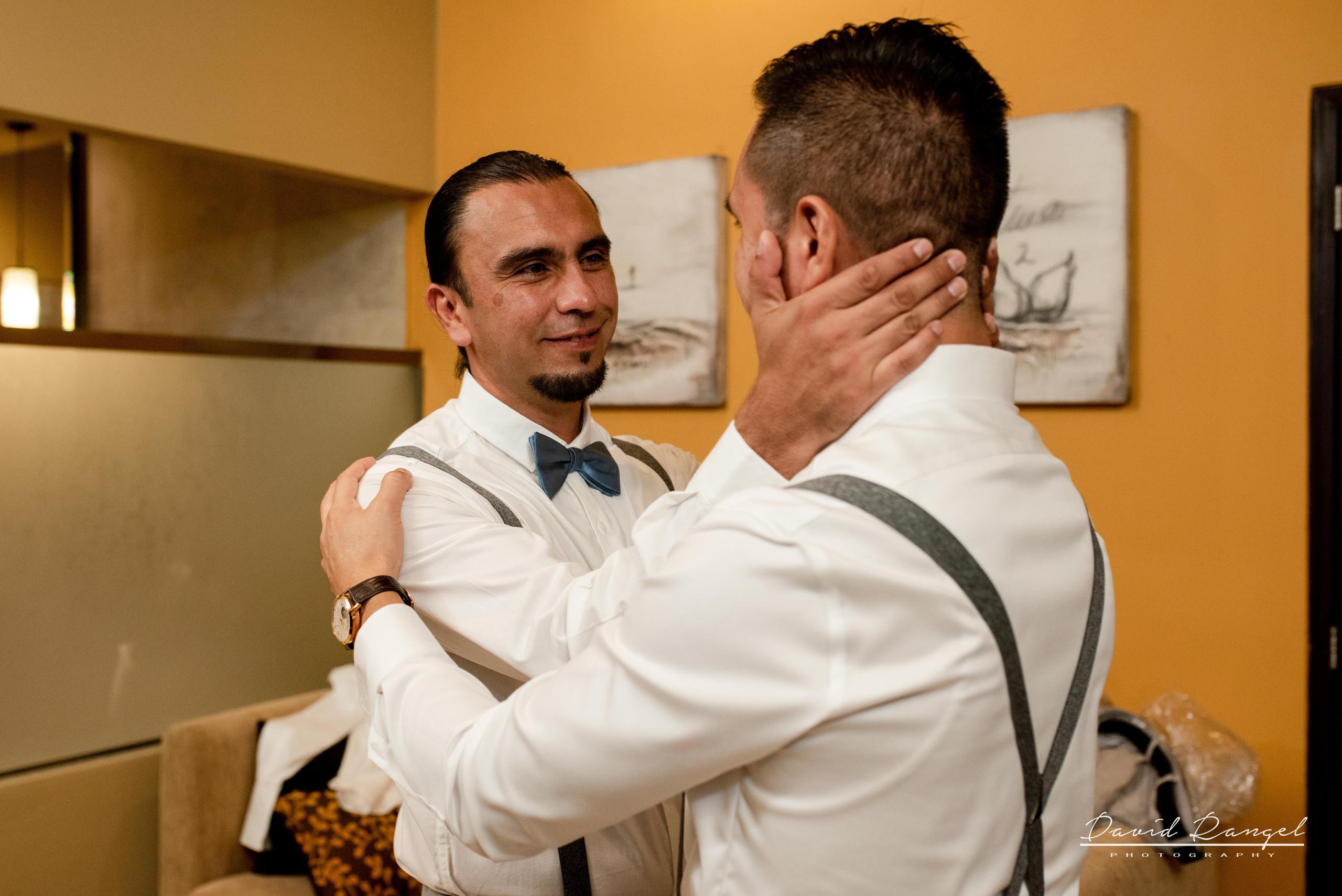 brother+groom+getting+ready+dorado+royale+room