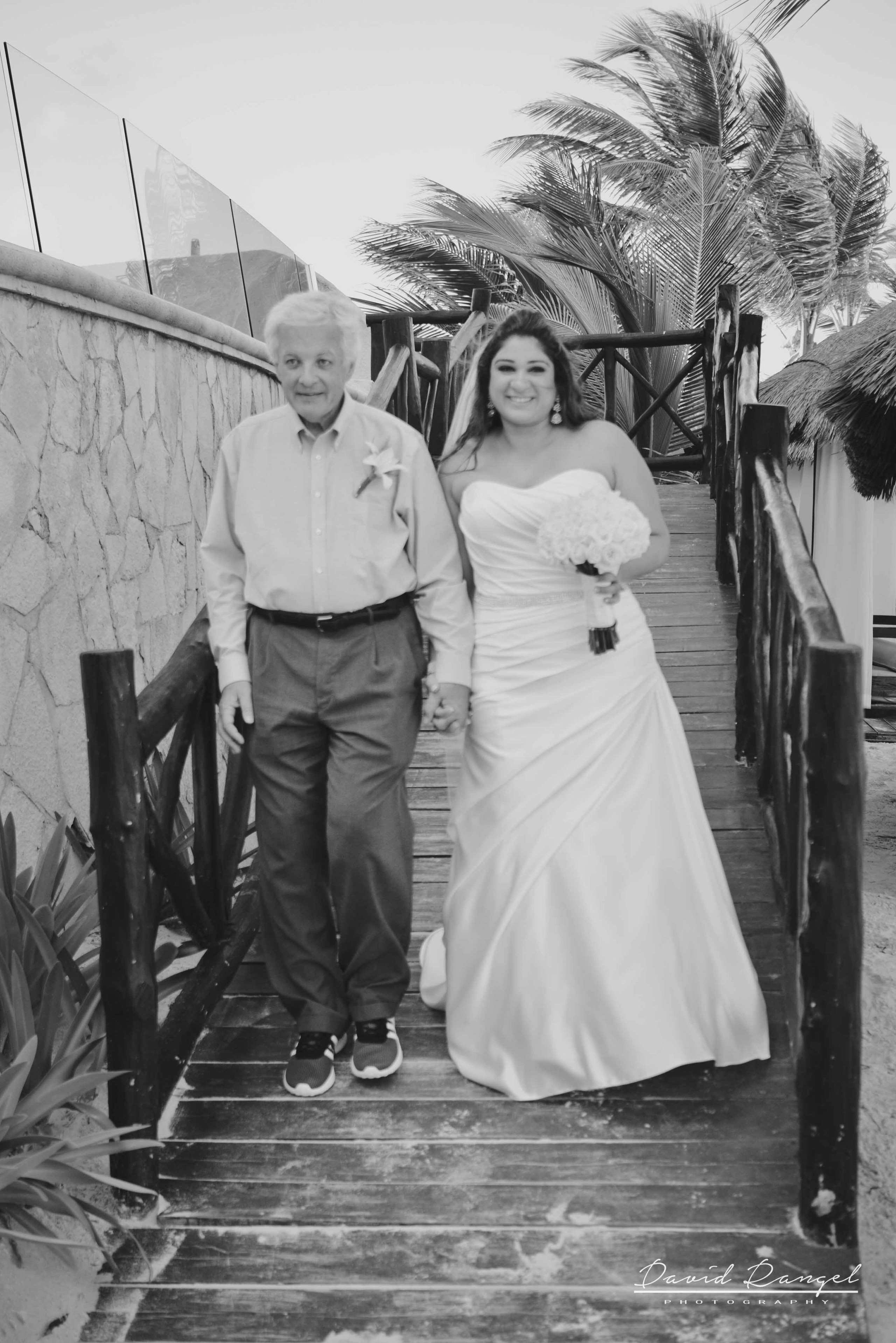 father+and+bride