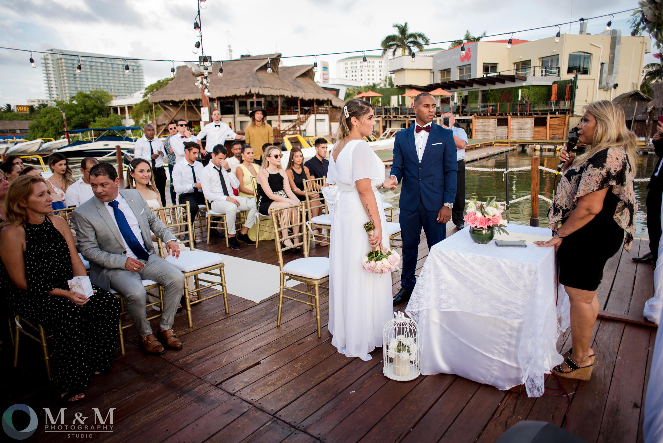 wedding+ceremony+pier+photo
