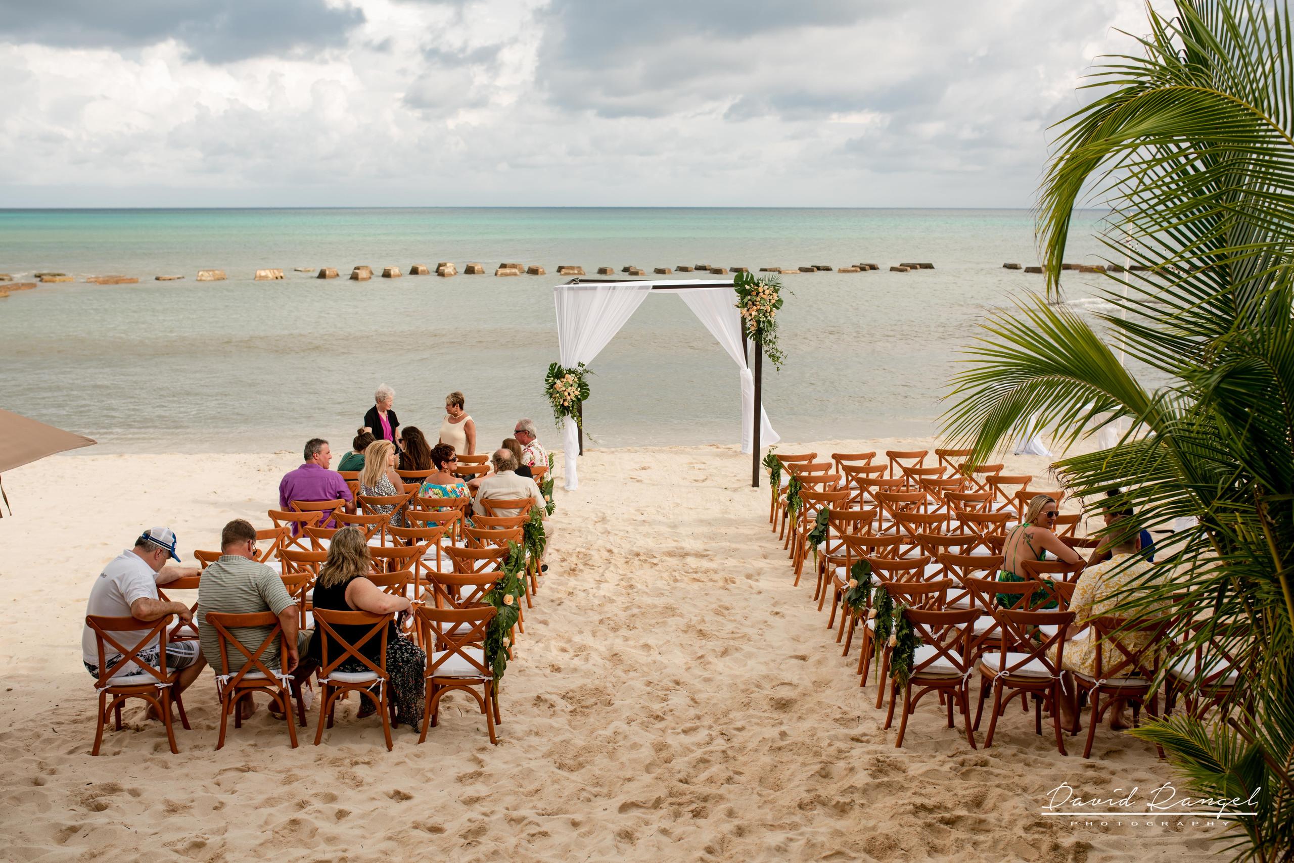 beach+gazebo+riviera+maya