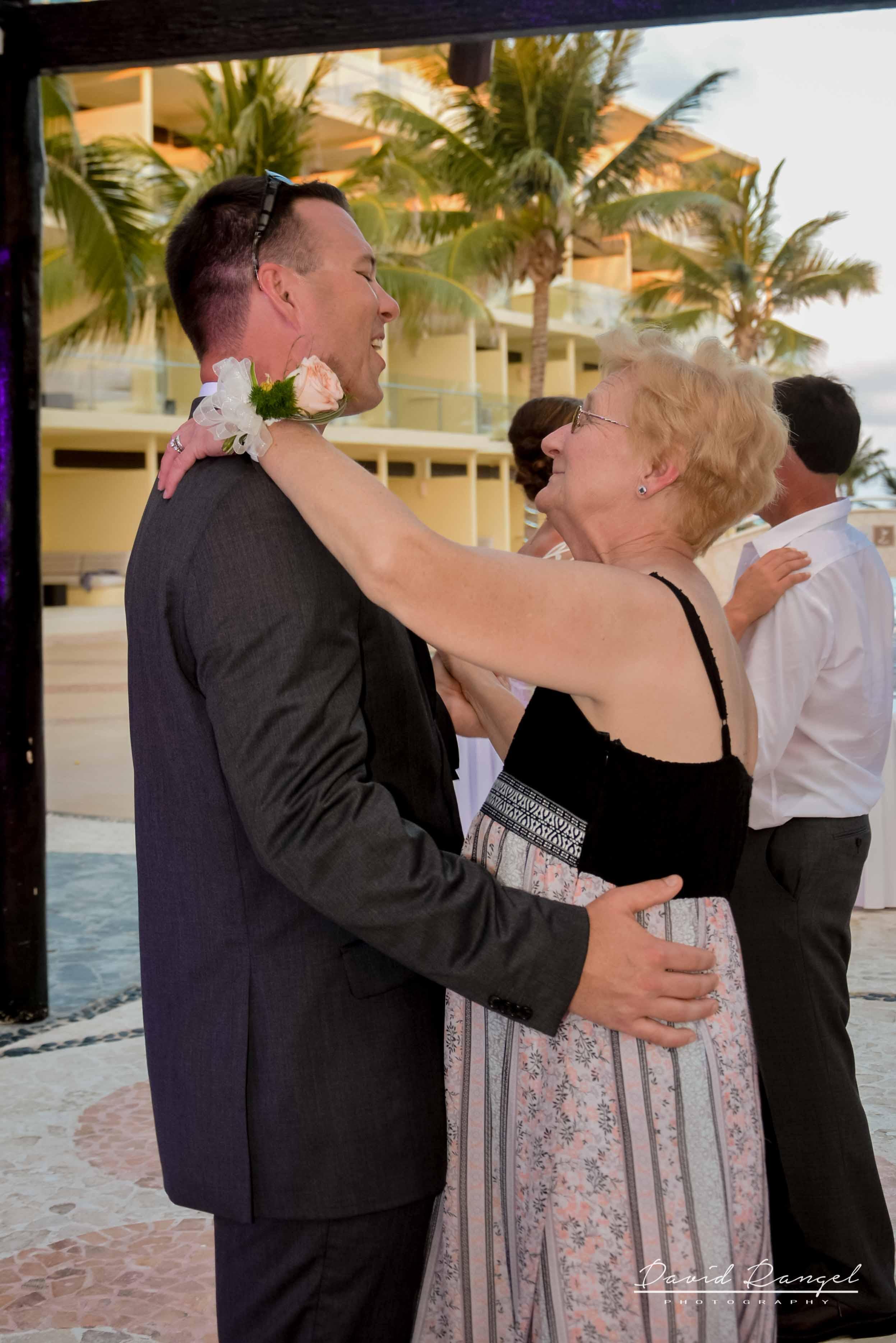grandma and grandson dance