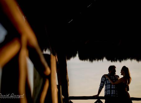 The Fives Azul Beach Resort   Honeymoon Session, Julie & Todd   Playa del Carmen, Mexico.