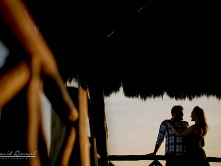 The Fives Azul Beach Resort | Honeymoon Session, Julie & Todd | Playa del Carmen, Mexico.