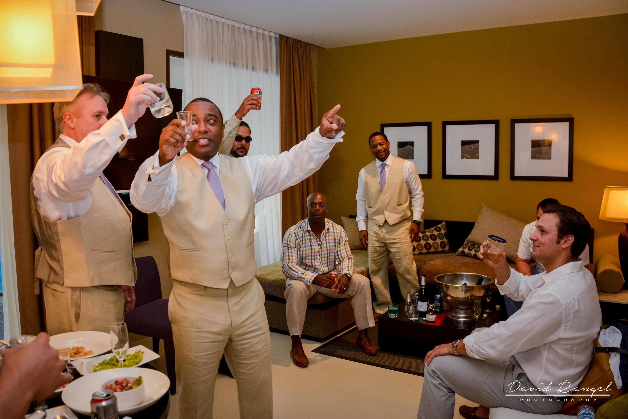 toast of the groom