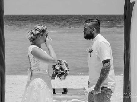 01 | Hotel Azul Beach Resort Riviera Cancun | Wedding, Becky & Scott | Cancun, México.