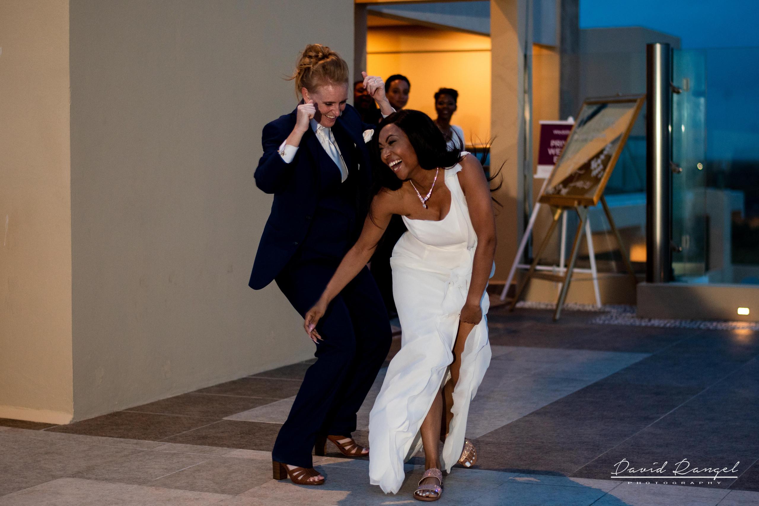wedding+reception+entrance