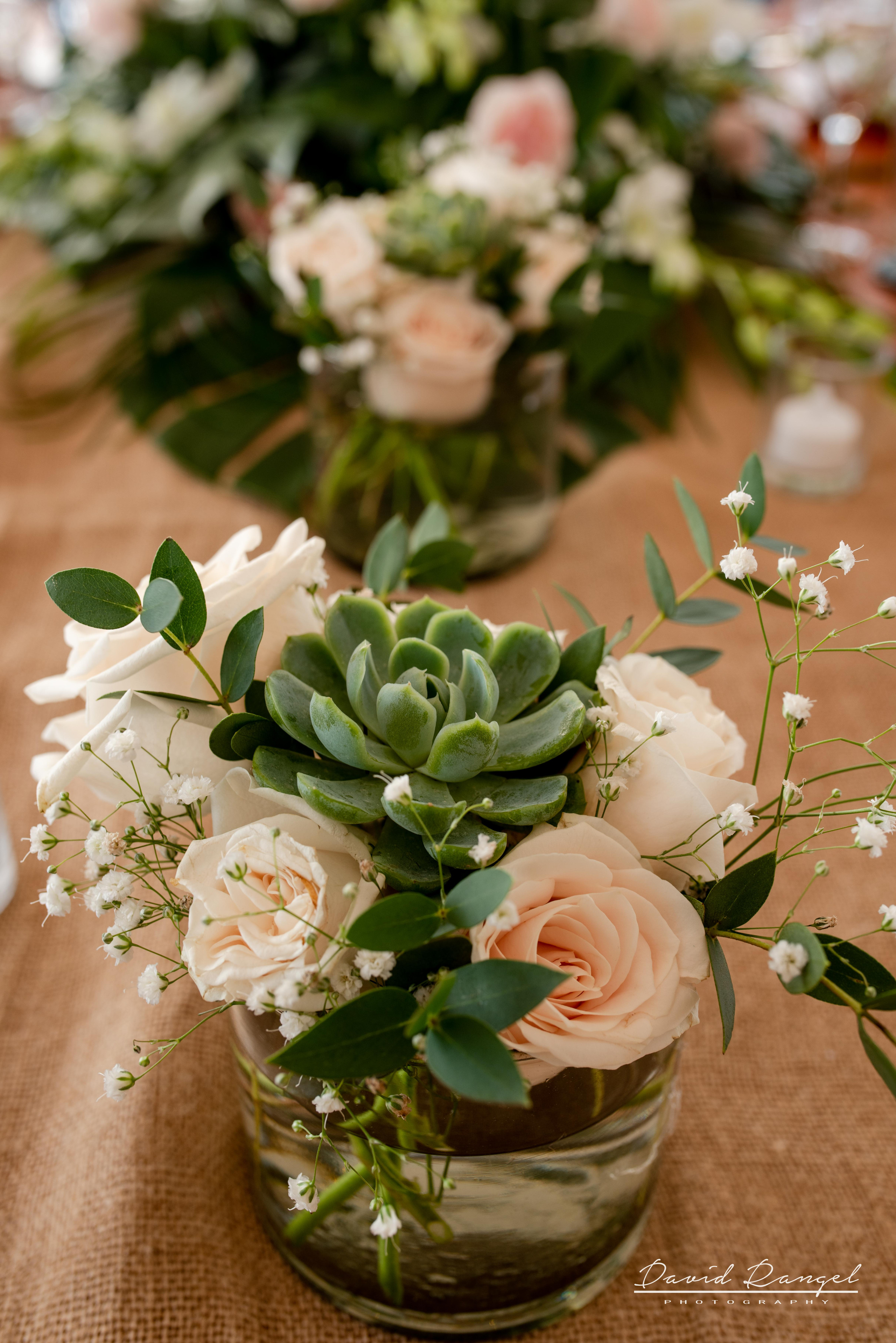 center+pieces+wedding