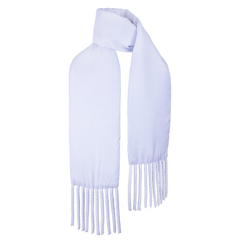 Wrapped Fat Scarf in Powder Blue by Sophie Holterman