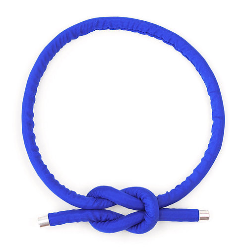 Necklace Neck Knot in Yves Blue by Sophie Holterman
