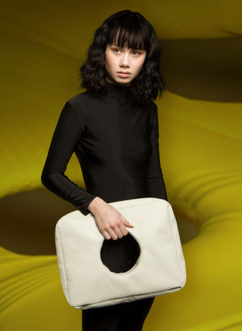 Hole Bag in Cloud Grey by Sophie Holterman