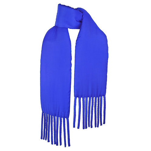 Wrapped Fat Scarf in Yves Blue by Sophie Holterman