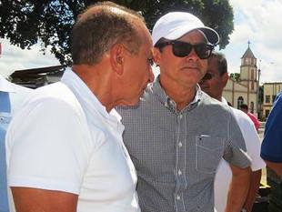 EM COMITIVA COM AMÉRICO GORAYEB E DEMAIS SECRETÁRIOS, DAVID ALMEIDA ASSINA ORDEM DE SERVIÇO DE RAMAI